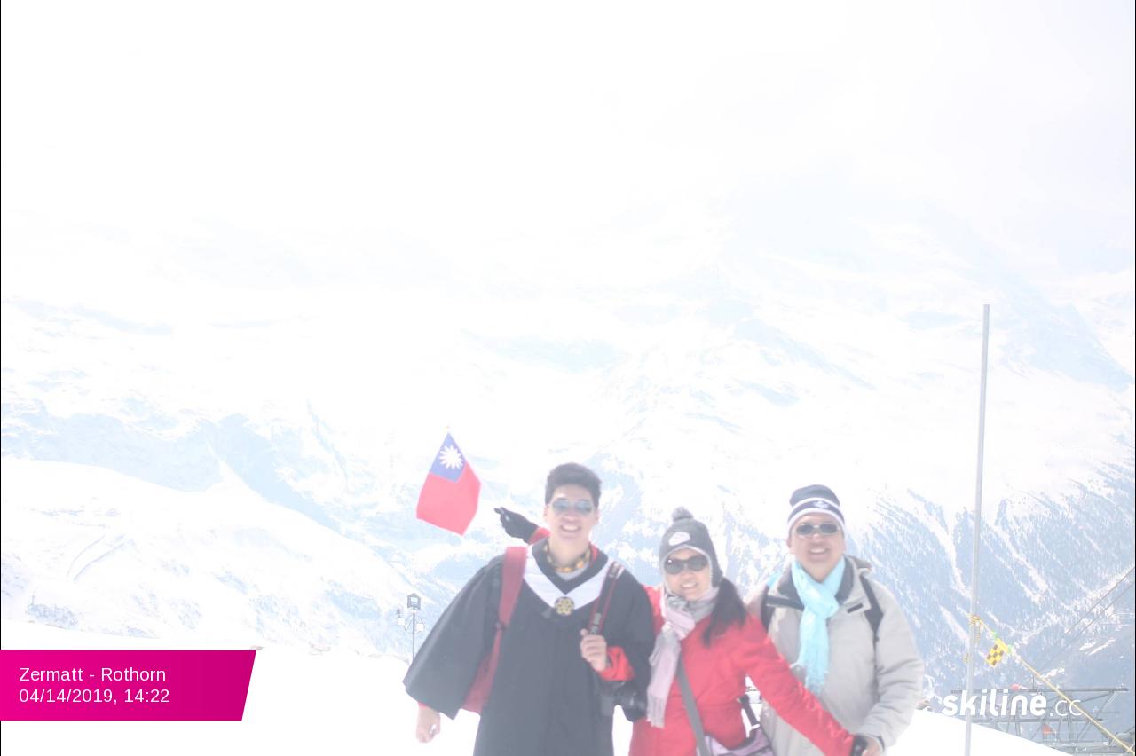 Zermatt - Rothorn 04/14/2019 14:22