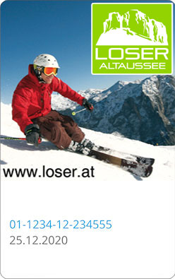 Liftticket Loser Bergbahnen in Altaussee