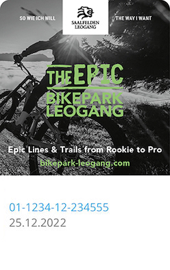 Liftticket Bikepark Leogang