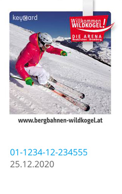Liftticket Wildkogel-Arena