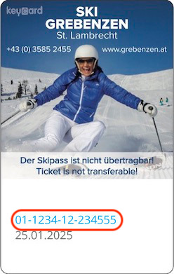 Liftticket Ski Grebenzen