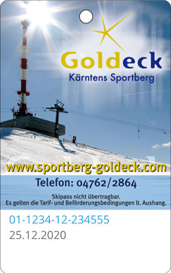 Liftticket Goldeck