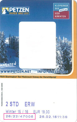 Liftticket PETZEN – Top of Südkärnten
