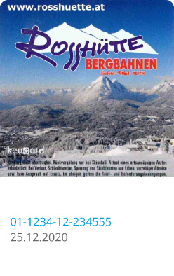 Liftticket Seefeld