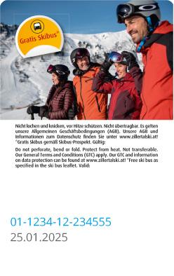 Liftticket Zillertal - Hochzillertal