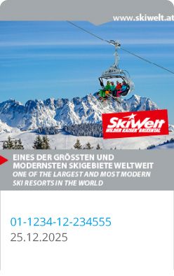 Liftticket SkiWelt Wilder Kaiser Brixental