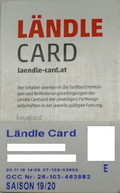 Liftticket Brandnertal