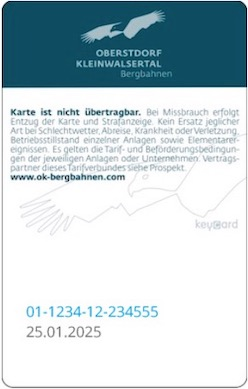 Liftticket Kleinwalsertal / Oberstdorf