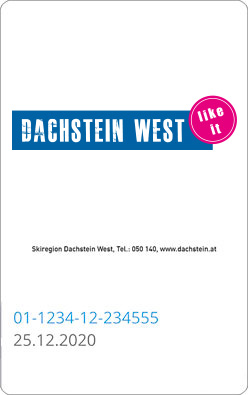Liftticket Dachstein West