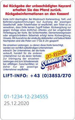 Liftticket Stuhleck