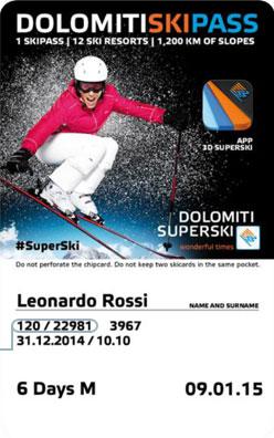 Liftticket Alta Badia - Colfosco