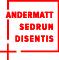 Logo ski resort Andermatt Sedrun Disentis