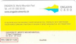 Liftticket Corviglia, St. Moritz