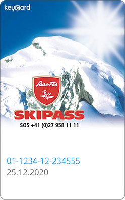 Liftticket Saas-Fee (Saastal Bergbahnen)