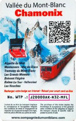 Liftticket Chamonix Mont-Blanc