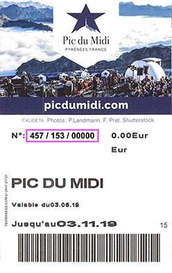 Liftticket Pic du Midi