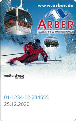 Liftticket Arber