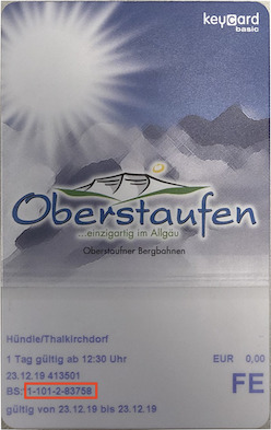 Liftticket Imbergbahn