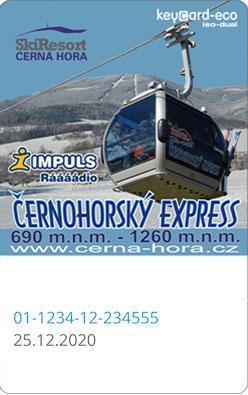 Skipass Cerna Hora