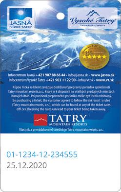 Liftticket Jasná Nízke Tatry