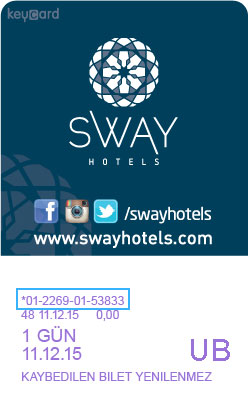 Liftticket SWAY HOTELS