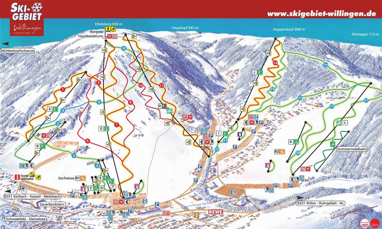 skiline - general info about ski resort willingen